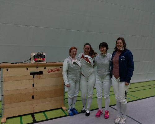 Deutschlandpokal Damen Florett 2. Runde