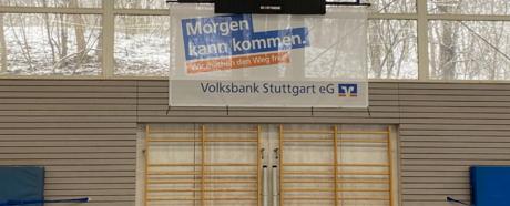Erneuerung der Anzeigetafel am Schnarrenberg