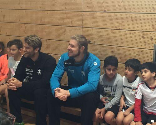 Handballprofis beim TVC